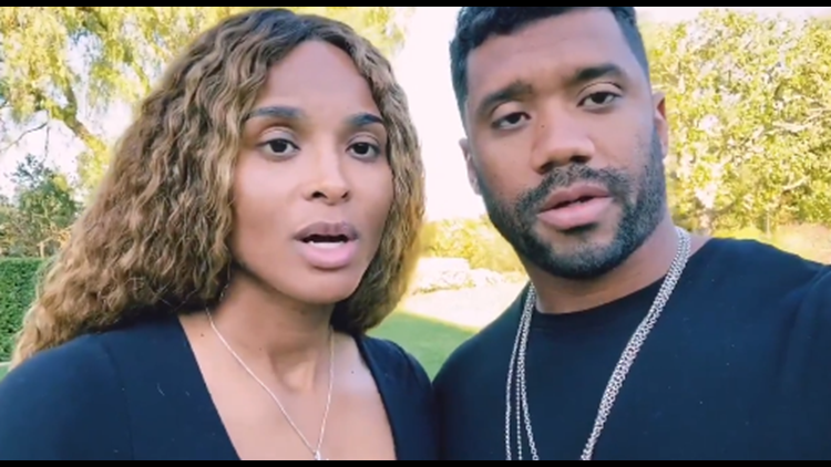 Russell Wilson And Ciara Donate A Million Meals To Seattle Food Lifeline Wwltv Com