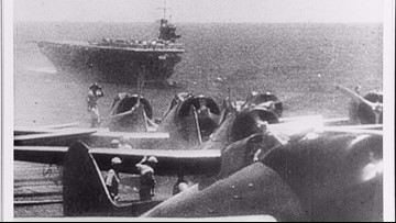 The Japanese brought plenty of firepower for attack