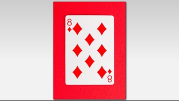 This hidden number in the 8 of Diamonds is blowing people's minds