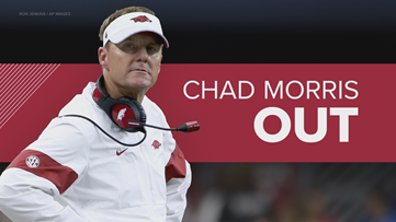 Chad Morris fired as Arkansas Razorbacks Head Football Coach