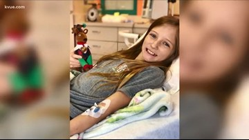 From no cure to no trace   Central Texas girl's inoperable brain tumor disappears