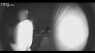 Chilling video shows possible kidnapping caught on Texas doorbell camera