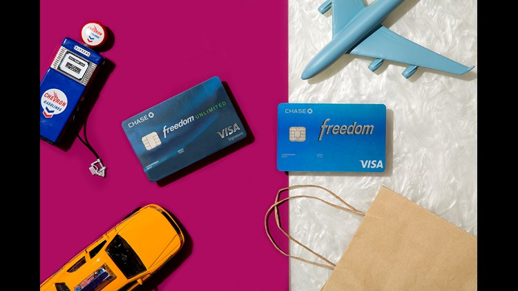 The Chase Freedom cards offer car rental protection and don't charge an annual fee. (Photo by Eric Helgas/The Points Guy.)