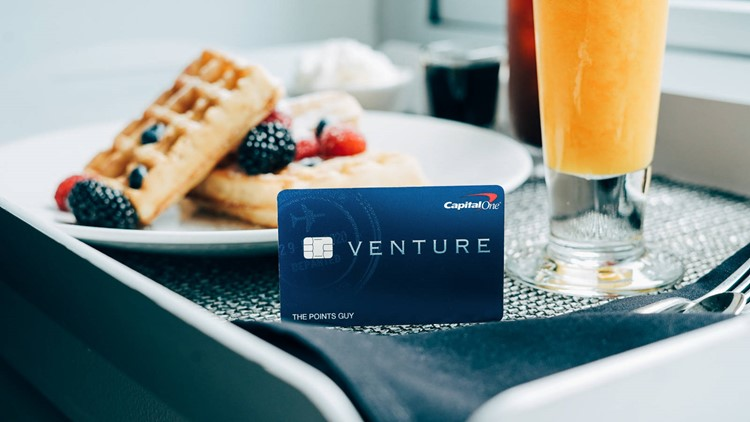 The Capital One Venture Card offers 2x earnings on everything, as well as car rental coverage. (Photo by Isabelle Raphael/The Points Guy.)