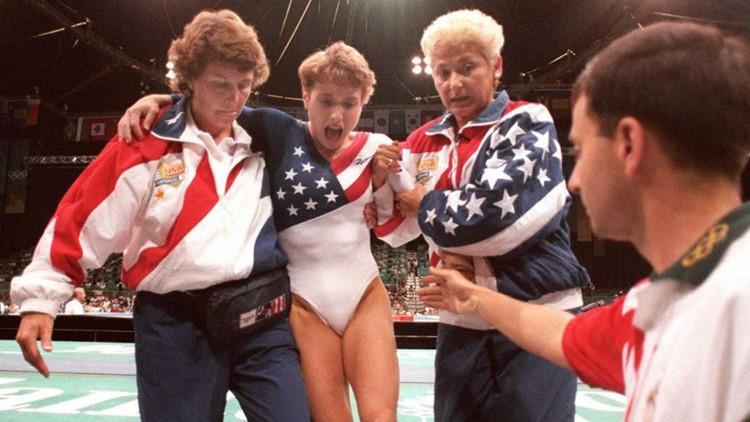 larry nassar 1996 olympics