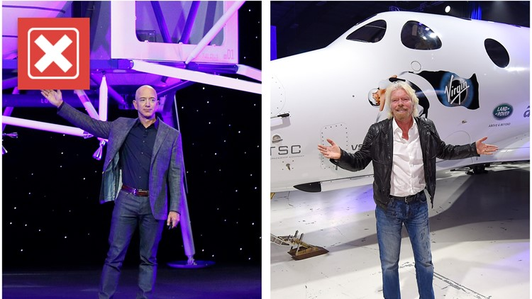 No, Branson, Bezos and their crews aren't the first space tourists in history