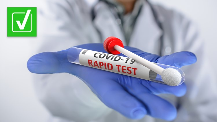 Yes, at-home COVID-19 rapid tests are as accurate as rapid tests done at testing sites