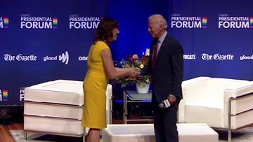 'A Real Sweetheart': Biden Accused of Making Condescending Remart to LGBTQ Presidential Forum Moderator