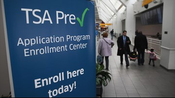 TSA testing on-the-spot PreCheck enrollment