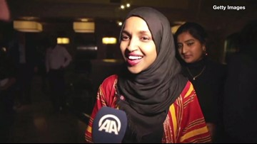 Rep. Ilhan Omar Claps Back at President Trump: 'You Can't #MuslimBan Us From Congress'