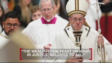 Pope Francis Advocates for 'Stifled Cry' of the Poor