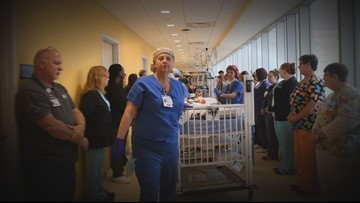 Tennessee Children's Hospital provides powerful tribute to young organ donors with honor walk