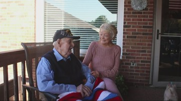 'I've lived a good life'   South Carolina two-war veteran celebrates 100th birthday