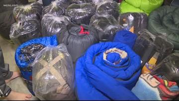 South Carolina boy gives sleeping bags to the homeless