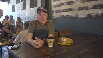 'I Love Being Here.' 94-Year-Old WWII Veteran Takes On Barista Duties In Burlington