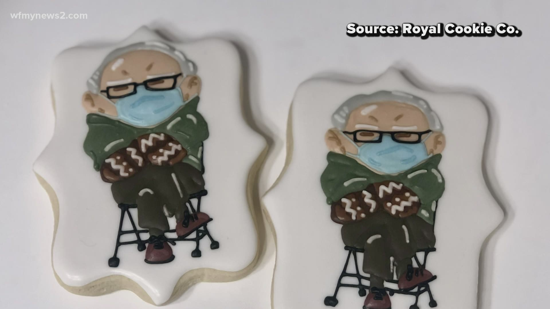 Bernie Sanders Cookies Go Viral In A Matter Of Hours Wwltv Com