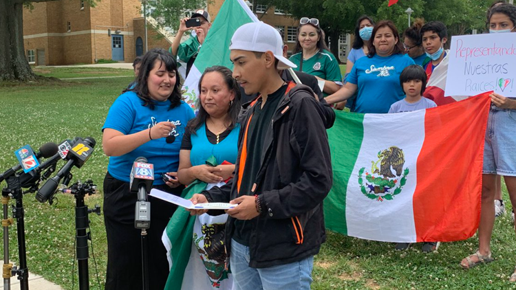 Graduating North Carolina student says he was denied his diploma because of Mexican flag