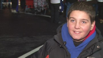 West Seneca kid goes viral for his love of fried chicken