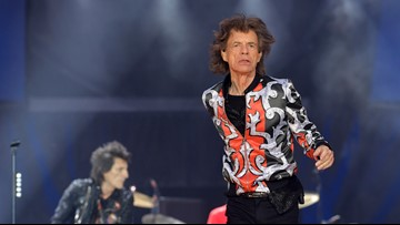 Mick Jagger has his moves back after health problems