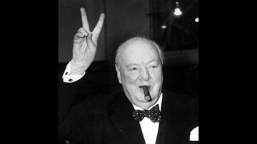 7 of Winston Churchill's paintings on view in Louisiana