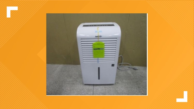 Two million brand name dehumidifiers recalled due to fire and burn hazards