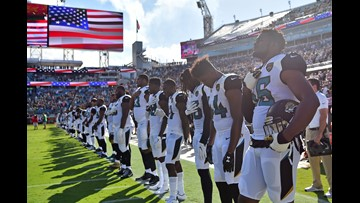 NFL announces league-wide policy for national anthem, will allow players to stay in locker room
