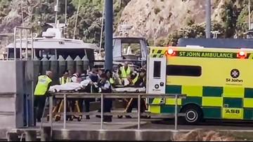 5 dead in eruption of New Zealand island volcano