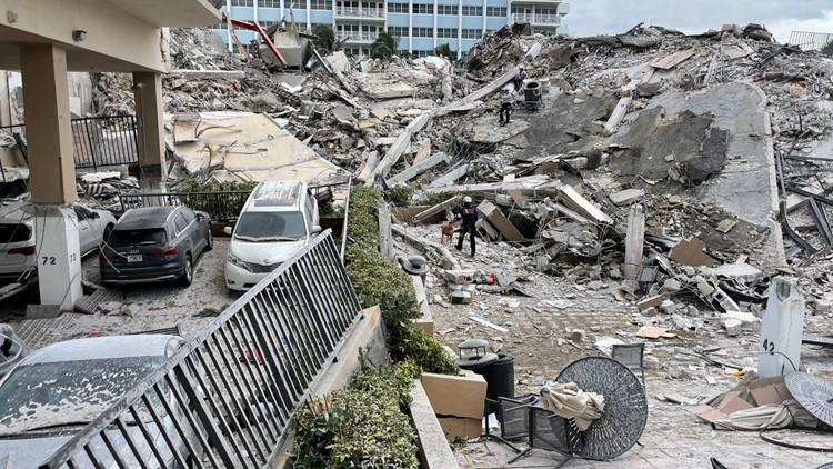 Emergency declared: Miami-area condo collapse; 1 dead, at least 99 unaccounted for
