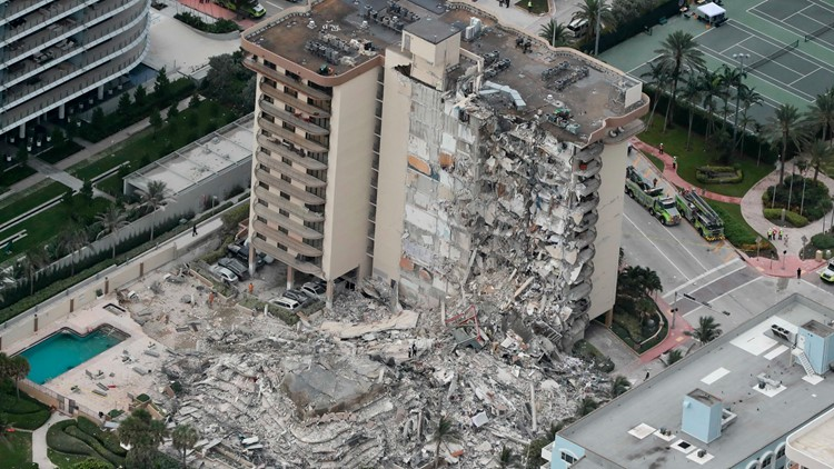 Florida professor finds land at Surfside high-rise collapse site has been sinking since the 1990s