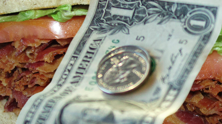 Diner customer charged extra for 'stupid question'