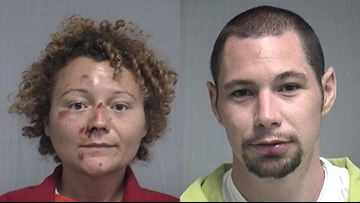 Florida man, woman accused of having sex in the back of a patrol car