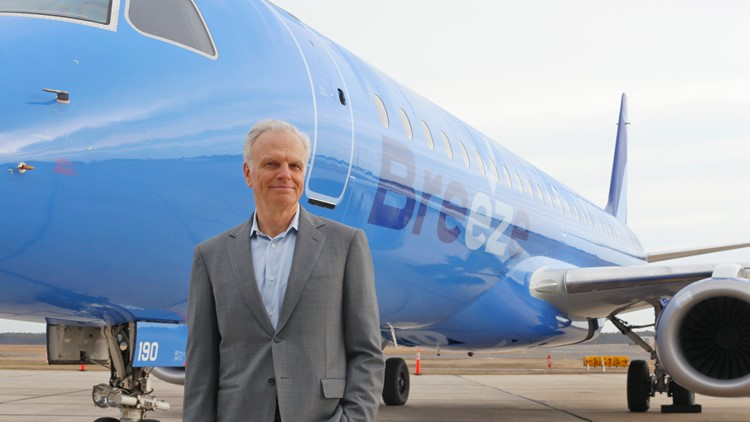 Low-fare airline Breeze Airways secures $200 million in new funding