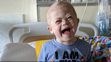 Help send birthday cards to this 2-year-old battling leukemia