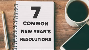 These are 7 of the most popular New Year's resolutions
