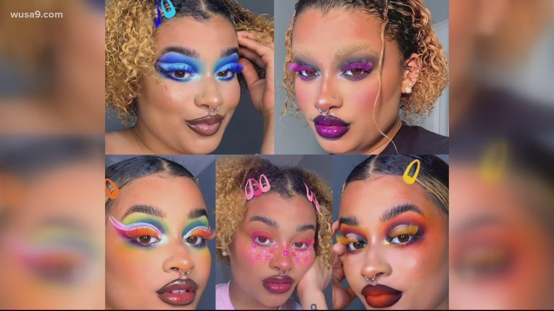 Teen Makeup Artist Uses Instagram To