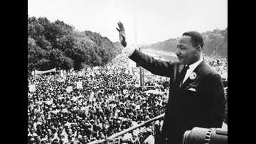 'Never give up, never give in': Congressman John Lewis remembers MLK 50 years later