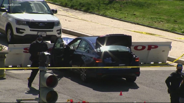 Capitol Police officer killed, suspect dead following ramming attack at US Capitol