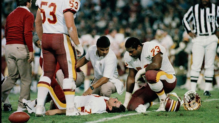 Theismann Injury AP Photo