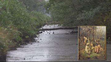 Deep in Great Dismal Swamp archaeologists unearth refuge for escaped slaves