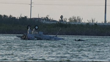 Oceana-based jet crashes off Key West; 2 crew members dead