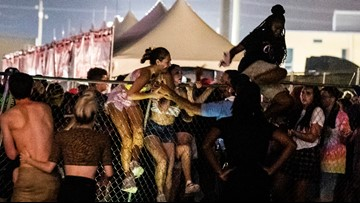 'Stampede' at Lil Wayne's WeezyAna fest leads to injuries, looting, report says