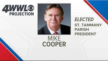 Mike Cooper elected St. Tammany Parish President