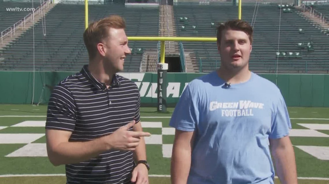 100 yards with the Green Wave: Corey Dublin