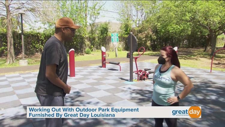 Outdoor Park Equipment Workout