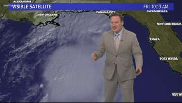 Eye on the Tropics: Tropical Storm Nestor moving toward FL