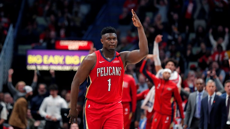 Zion Williamson won't be ready for season opener, could be out several games