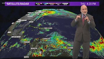 Tropical Update: