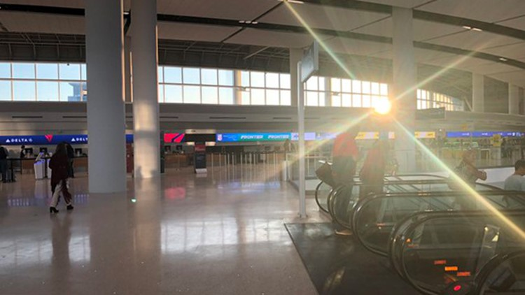Fog causes brief stop for incoming flights at New Orleans airport