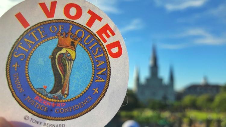"Louisiana's 2019 ""I Voted"" sticker honored for creativity"