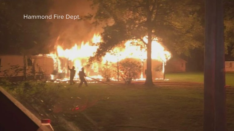 Deadly Hammond fire started outside home, investigators say